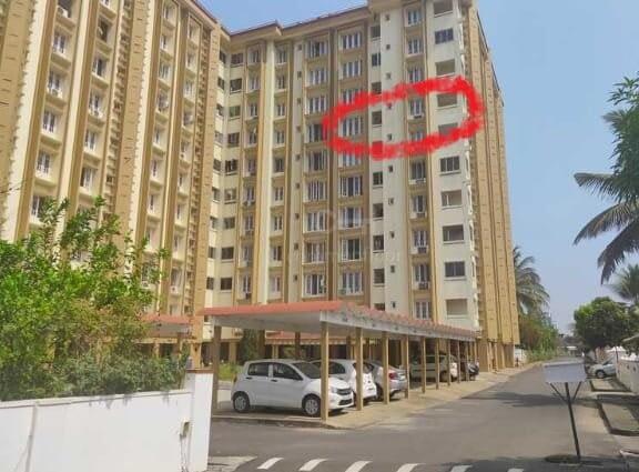 4 BHK flat of 1574 sq.ft. for Sale in Periyar Hermitage, Aluva, Kochi