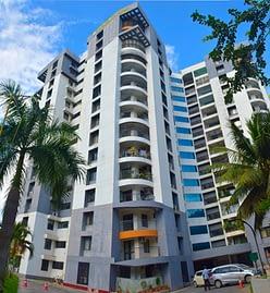 3BHK, Semi Furnished Jawahar Nagar Kowdiar, Nikunjum Apartments