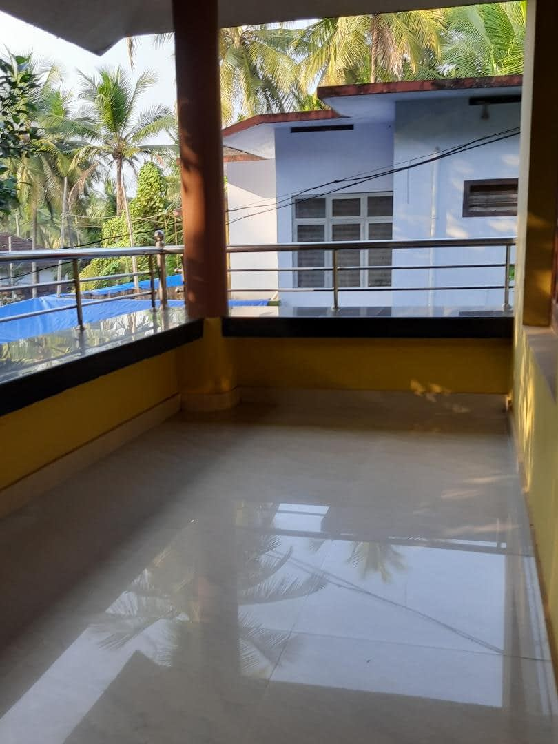 2BHK in a home (Only first floor available) for rent at Kannur