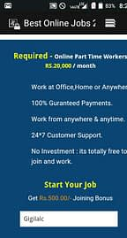 We are Hiring – Earn Rs.15000/- Per month – Simple Copy Paste Jobs