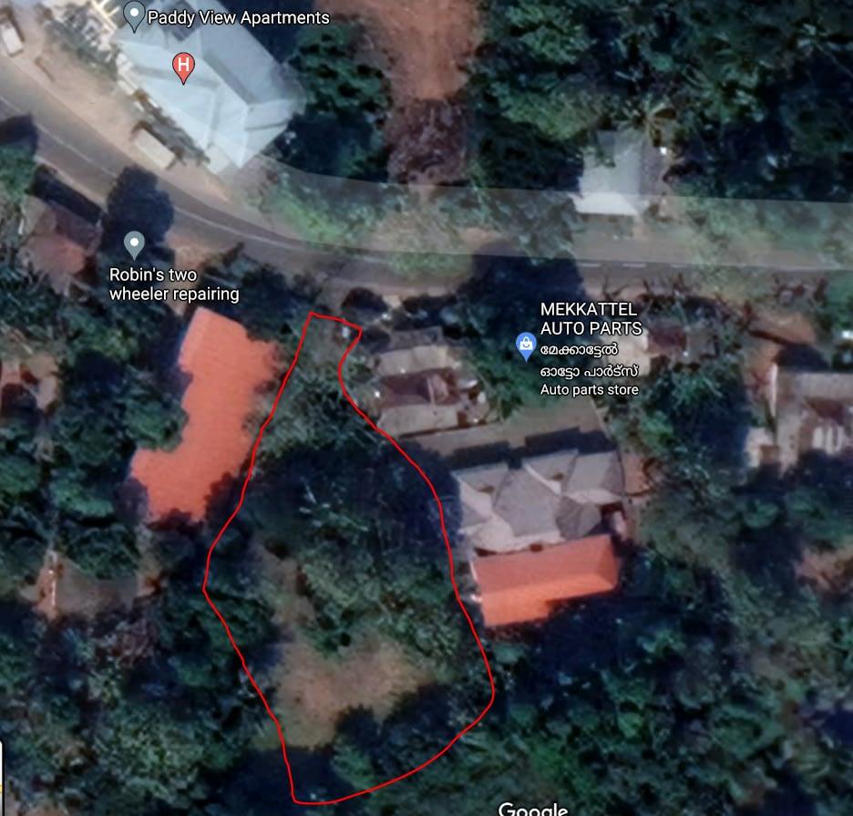 Kidangoor Land For Sale
